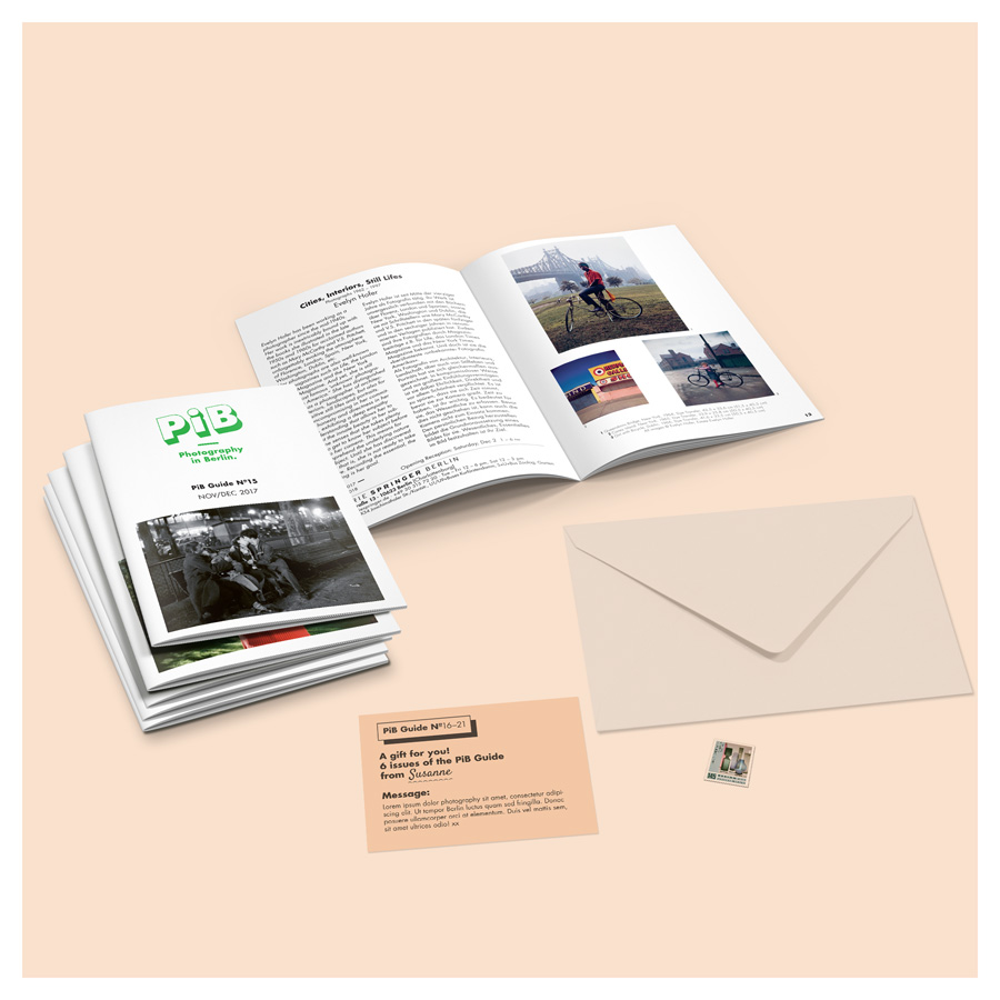 PiB Guide © PiB – Photography In Berlin. #pibguide. Also Available As An Annual Subscription Or Gift Subscription!