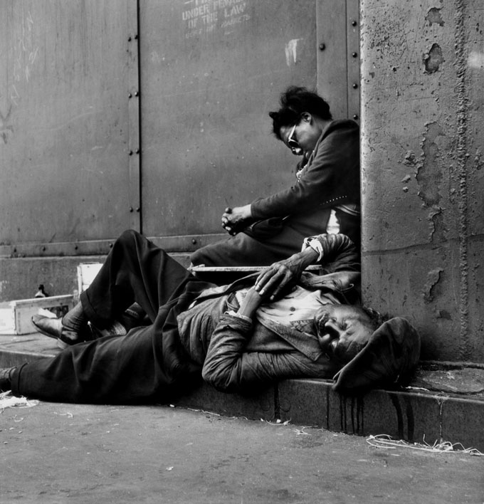 C/O Berlin | Gordon Parks: Homeless Couple, Harlem, New York, 1948, Courtesy Of And Copyright The Gordon Parks Foundation