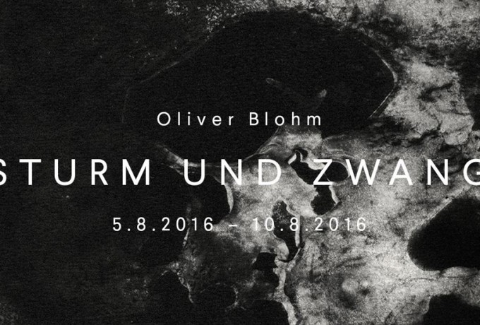 A Space Under Construction | Oliver Blohm »Sturm Und Zwang«