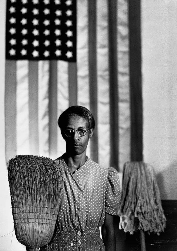 American Gothic, Washington, D.C., 1942. Photograph By Gordon Parks, Courtesy Of And © The Gordon Parks Foundation