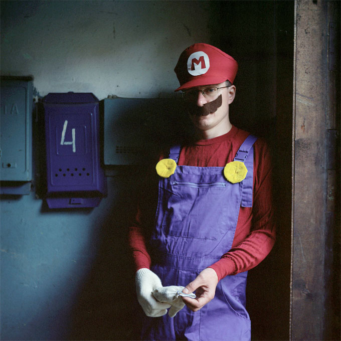 Super Mario 4, 2014, From Declared Detachment © Mariya Kozhanova
