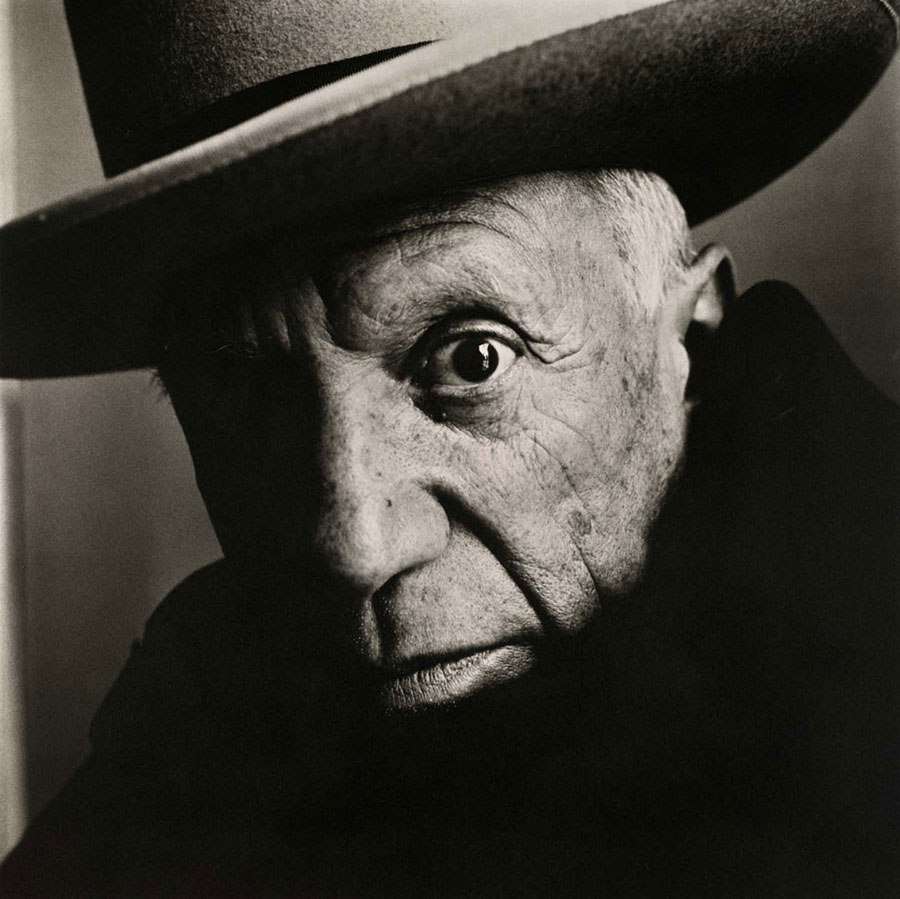 Irving Penn, Pablo Picasso At La Californie, Cannes, 1957 © The Irving Penn Foundation