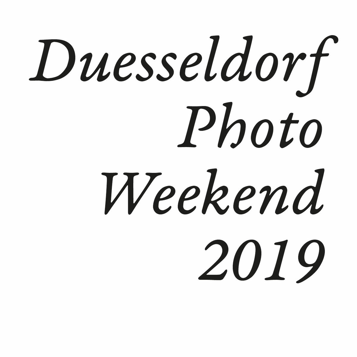 Duesseldorf Photo Weekend 2019