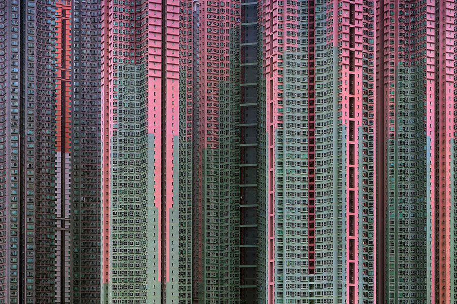 Architecture Of Density (2003-2014) © Michael Wolf, Courtesy Galerie Wouter Van Leeuwen Gallery, Netherlands