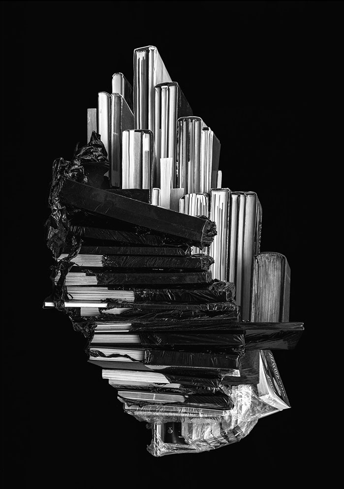 Isabelle Le Minh, Épitrope, AfterAlfred Ehrhardt, 2019, Pigment Print On Baryte Paper,Alu-Dibondandinstallation Of Books, 115 X 85 Cm And Books © Isabelle Le Minh / ADAGP, Paris 2020