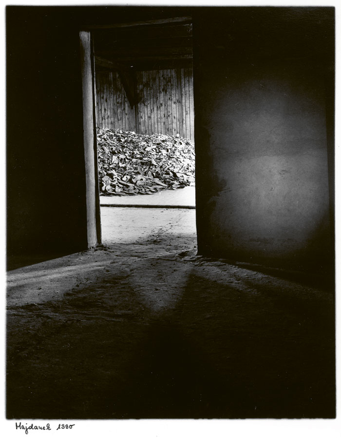 Majdanek 1990, From The Series Memorials, 1990 © Henning Langenheim | Akg-images