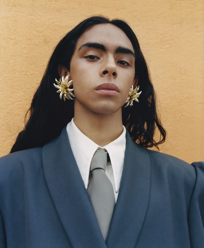 Flower Earrings, 2019, From The Series What's Up For Garage © Nadine Ijewere