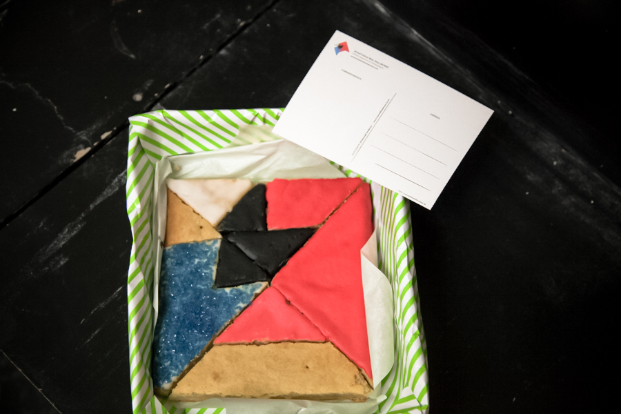 Actual Colors May Vary {ACMV} As A Cake! Thank You, Simone! :)