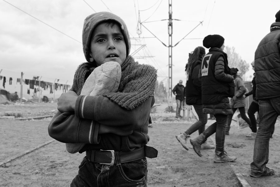 Idomeni, March 16, 2016, From Perilous Hope © Neal McQueen