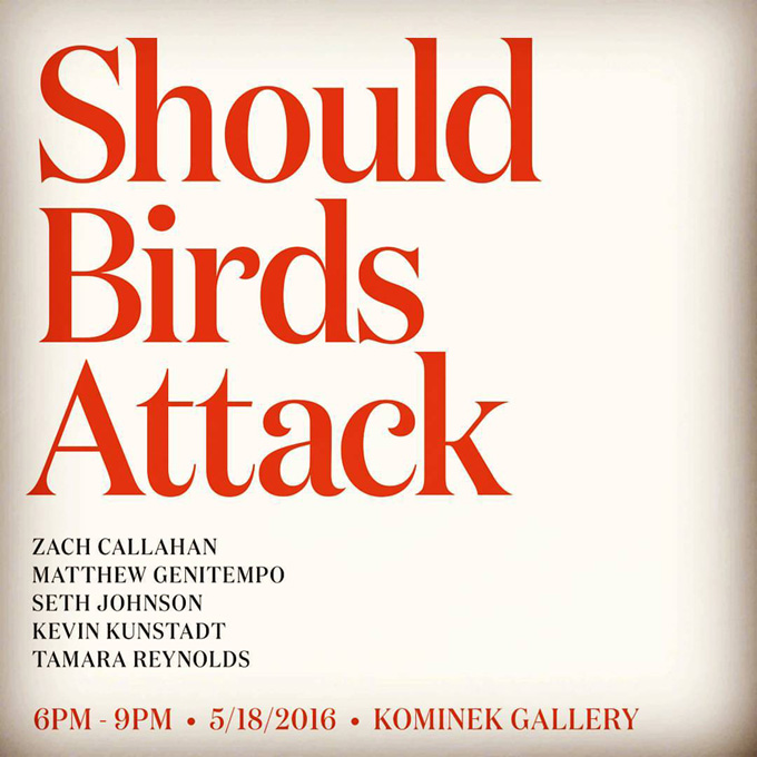Kominek Gallery | »Should Birds Attack« Hartford M.F.A. Photography Group Show
