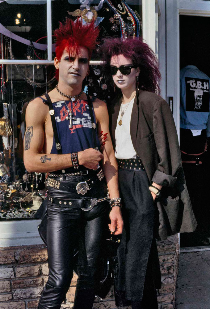 Alice Springs, Melrose Avenue, Los Angeles, 1984 © Alice Springs