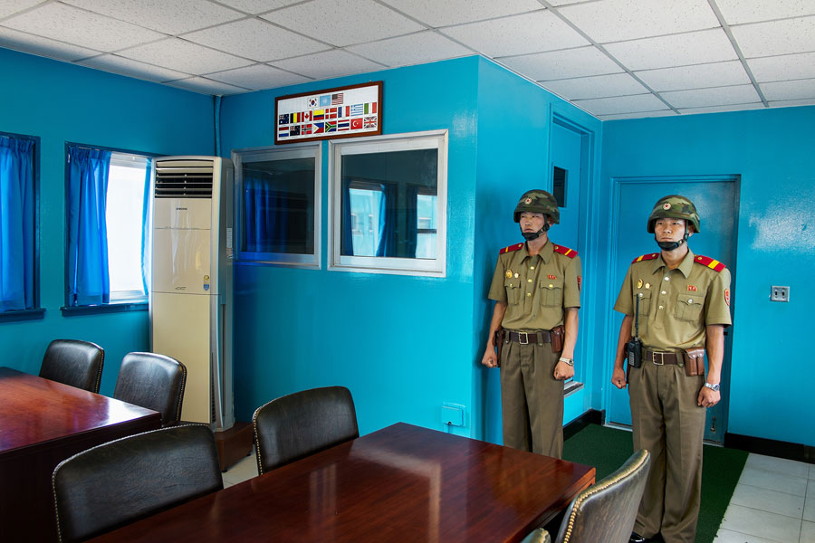 © Martin Von Den Driesch, Deleted I (Images Was Deleted By North Korean Border Officer When Crossing DMZ. The File Could Be Restored Later On), 2014