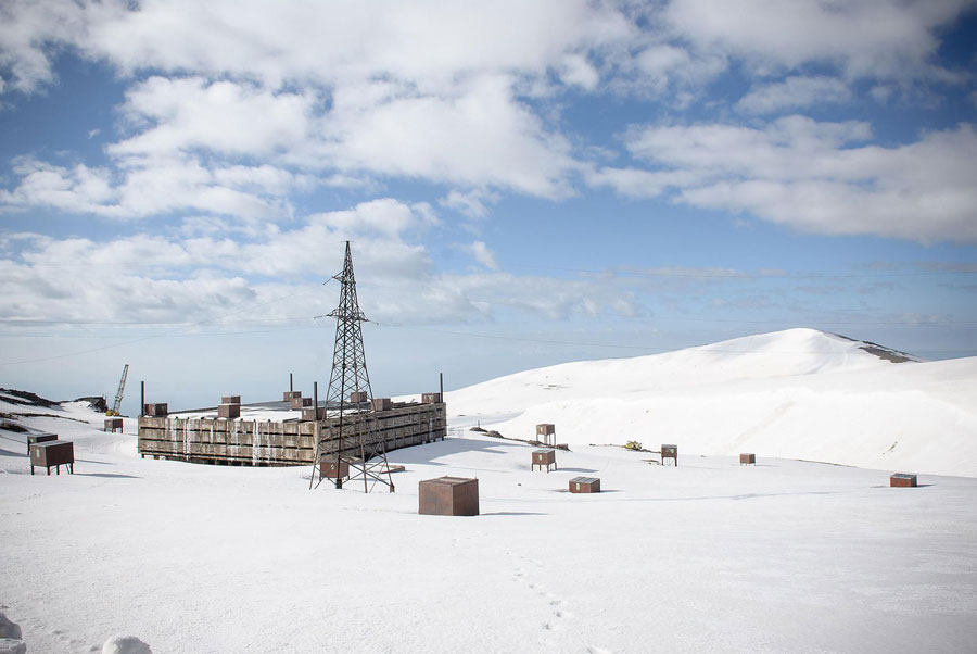 © Erol Gurian, Aragats Cosmic Ray Research Station, Armenia. The Ambitions Have Always Been Great On Mount Aragats. The Researchers Here Were Planning The Largest Experiment In The World. Today, The Shell Of The Particle Counter Decays In The Icy Mountains Of Armenia.