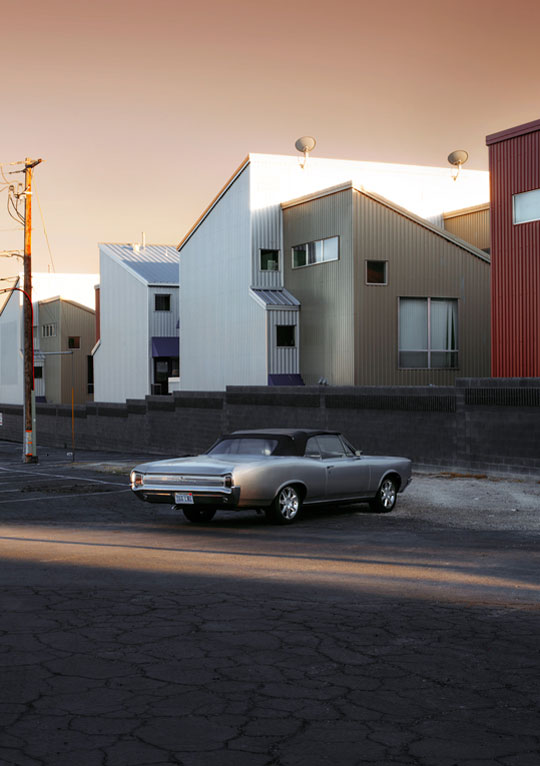 The Almost New Special Car To Feel Special And Appreciated, 2015, From The Series I Can Be Her © Stefanie Moshammer