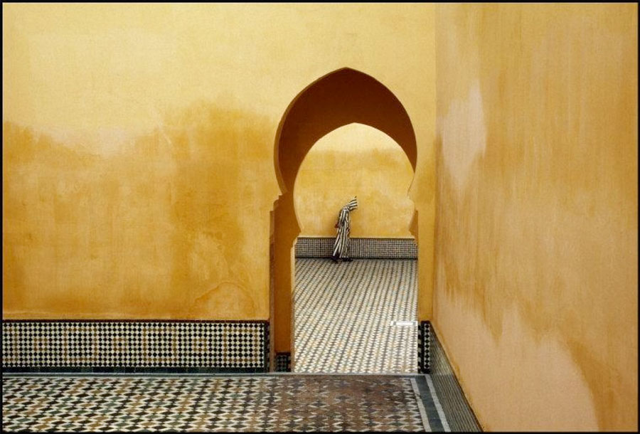 Moulay Ismael Mausoleum, Marokko 1985 © Bruno Barbey / Magnum Photos