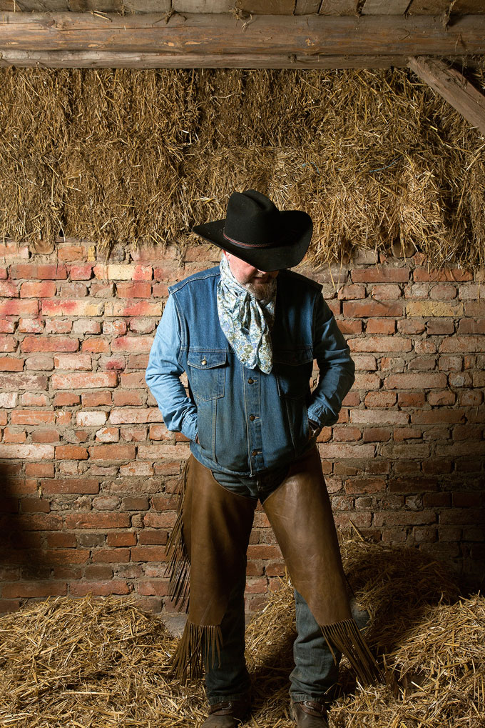 Portrait #1, From The Series Cowboy By Choice © Ulrike Schmid