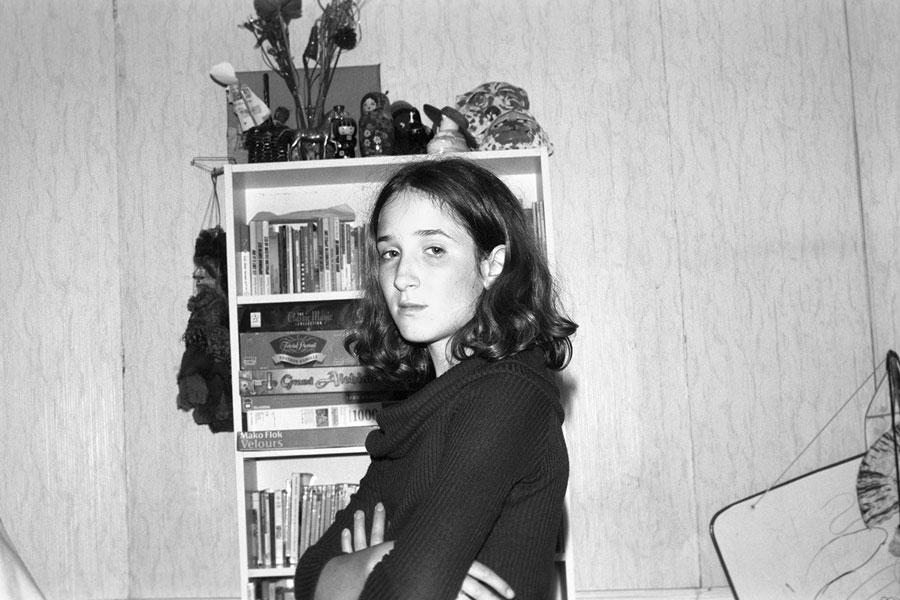 Léa In Her Sisters Room, 2001, Analogue Photo, 35mm Format © Anne-Lena Michel