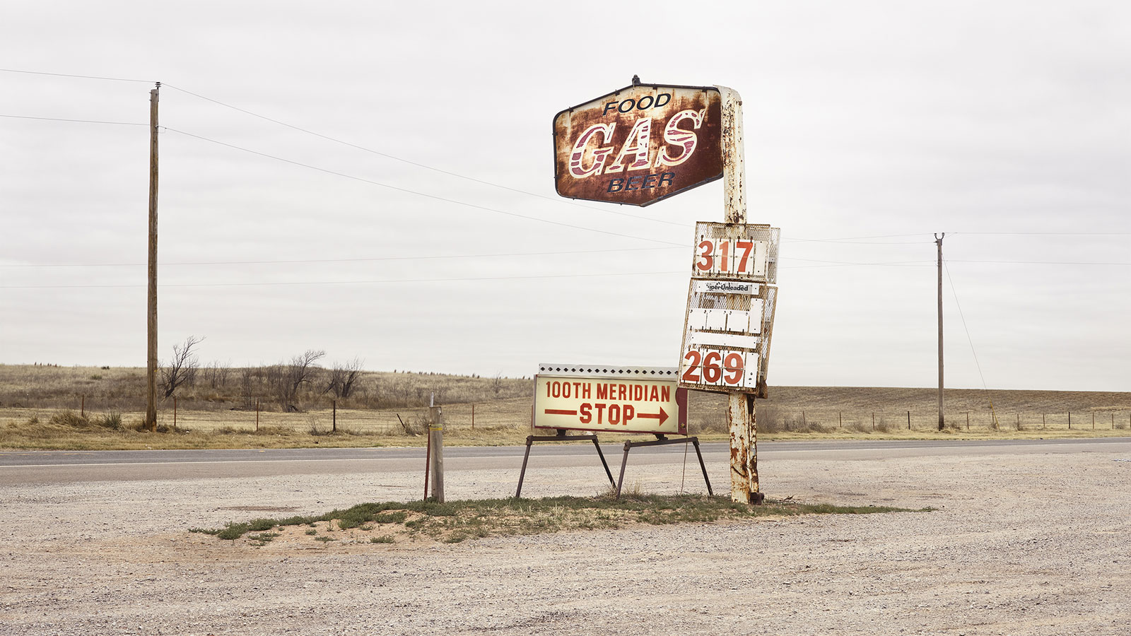 Detail Of/aus: 100th Meridian, USA, 2018, 180 X 140 Cm (also Available In 90 X 70 Cm), Archival Pigment Print, Ed. Of 3 + 1 AP's (5 + 1 AP's) © Roger Eberhard, Courtesy Robert Morat Galerie