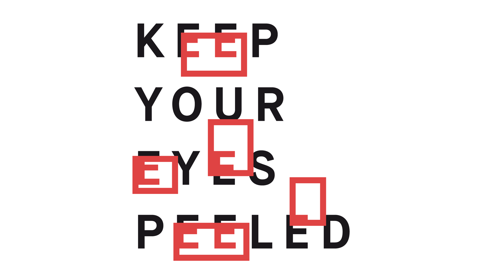 AFF Galerie | »KEEP YOUR EYES PEELED VI«