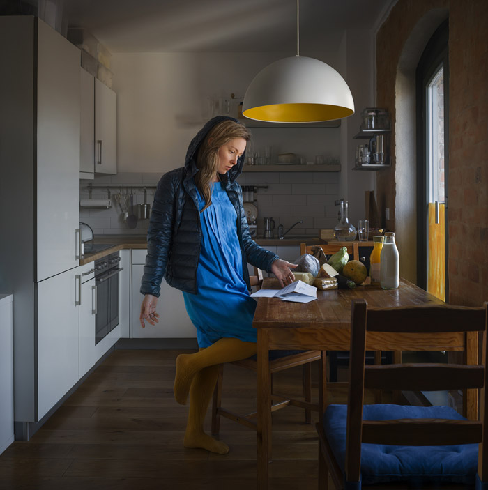 Kitchen Story, From The Series Zweiraumwohnung © Katerina Belkina