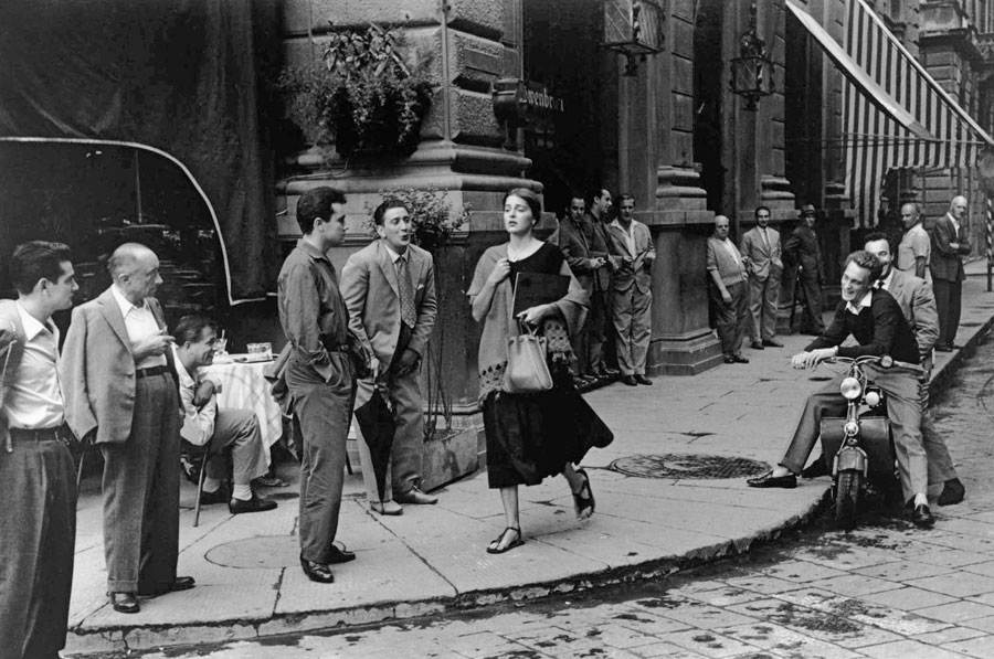 American Girl In Italy, Florence, Italy, 1951. © Orkin/Engel Film And Photo Archive; VG Bild-Kunst, Bonn 2021